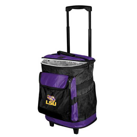 162-57B-1: LSU Rolling Cooler