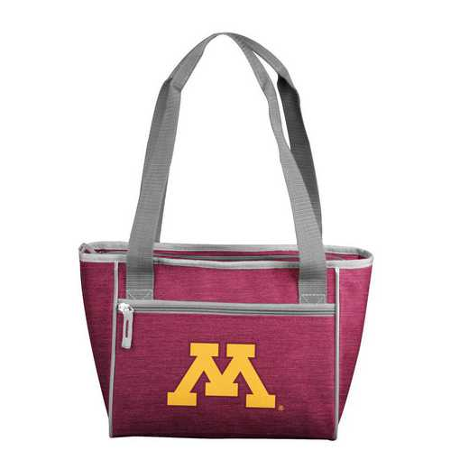 175-83-CR1: Minnesota Crosshatch 16 Can Cooler Tote