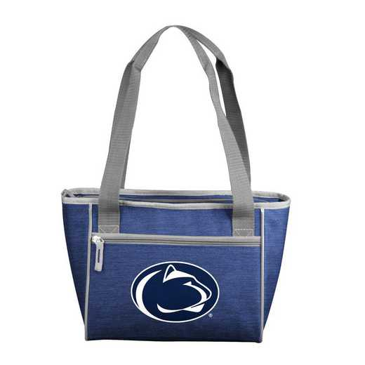 196-83-CR1: Penn State Crosshatch 16 Can Cooler Tote