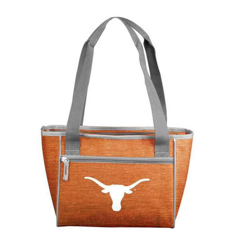 218-83-CR1: Texas Crosshatch 16 Can Cooler Tote