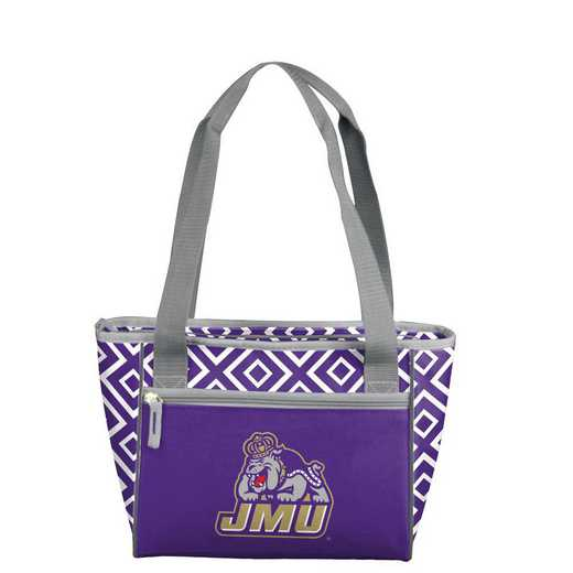 265-83DDM: James Madison Mavrik DD 16 Can Cooler Tote