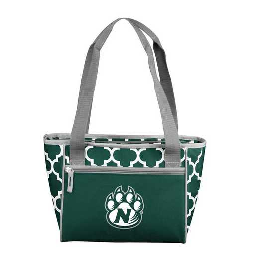 309-83QF: Northwest Missouri State Quatrefoil 16 Can Cooler Tote