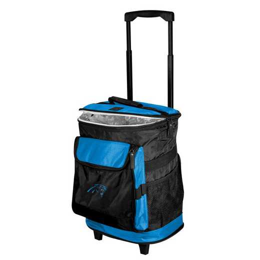 605-57B-1: Carolina Panthers Rolling Cooler