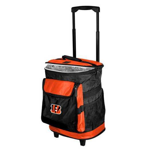 607-57B-1: Cincinnatti Bengals Rolling Cooler