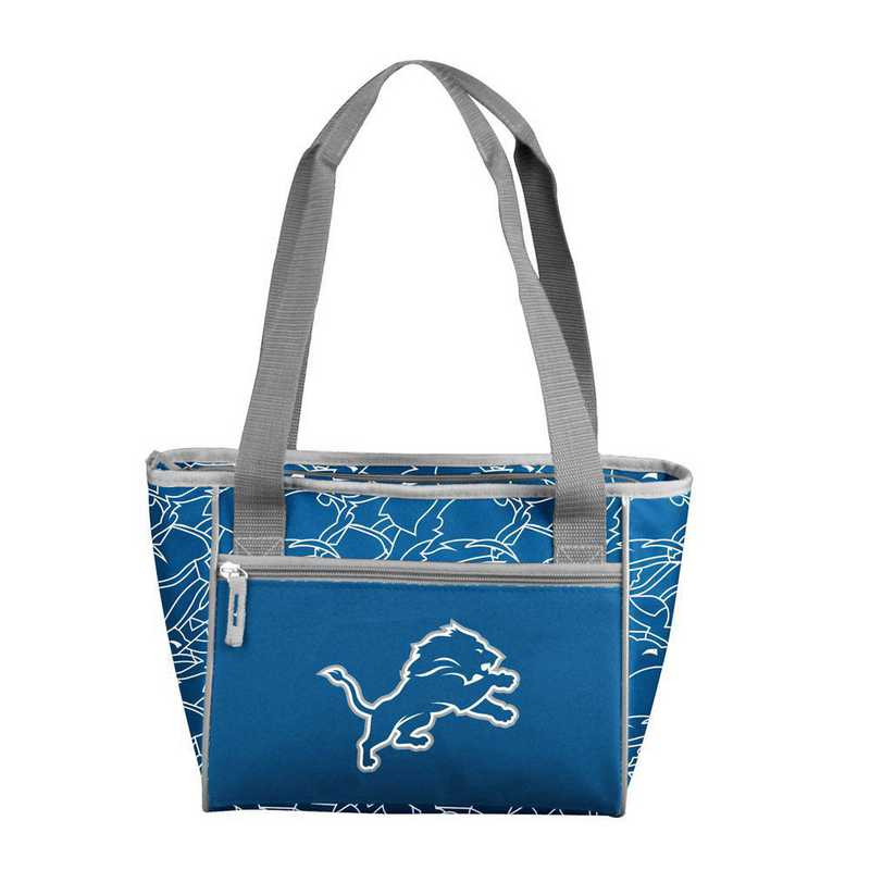 611-83-FIT1: Detroit Lions FIT 16 Can Cooler Tote