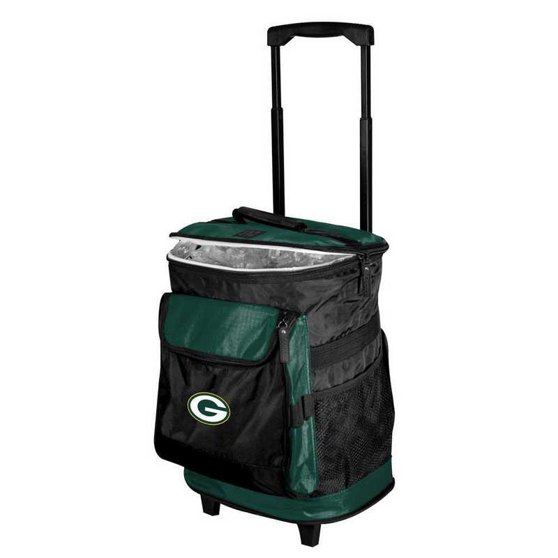 612-57B-1: Green Bay Packers Rolling Cooler