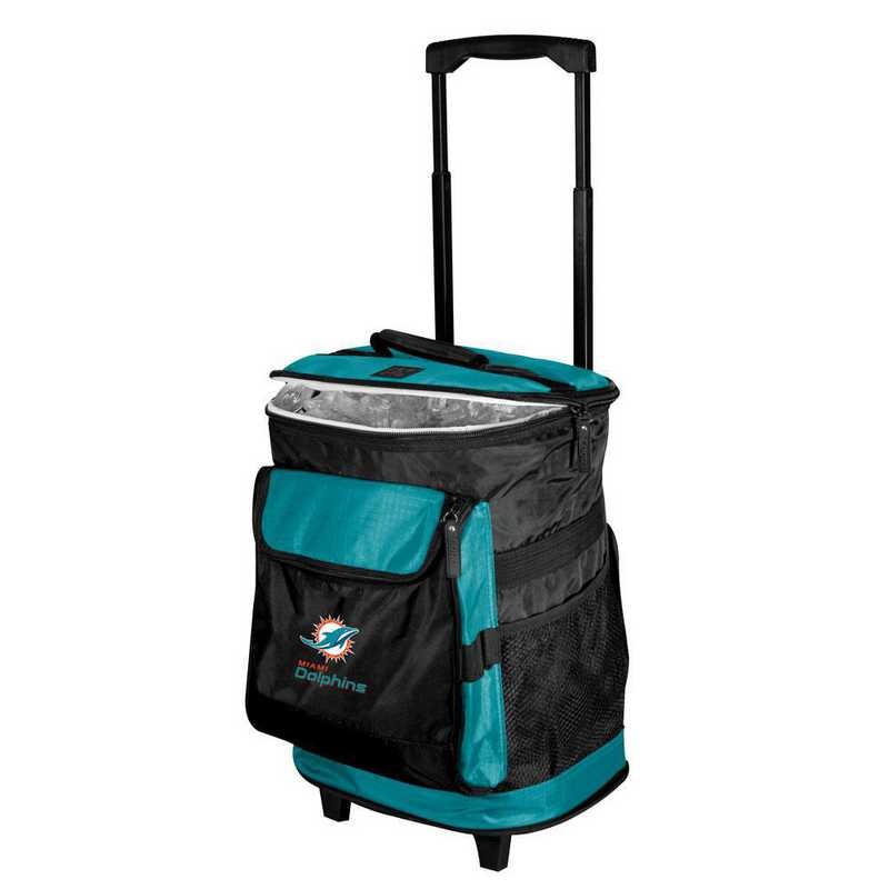 617-57B-1: Miami Dolphins Rolling Cooler