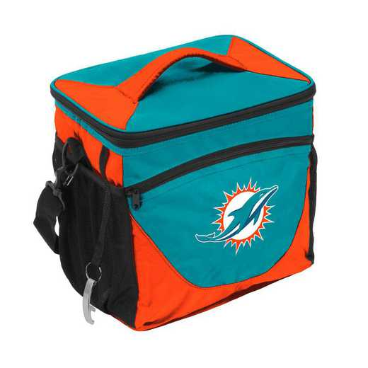 617-63-1A: Miami Dolphins 24 Can Cooler