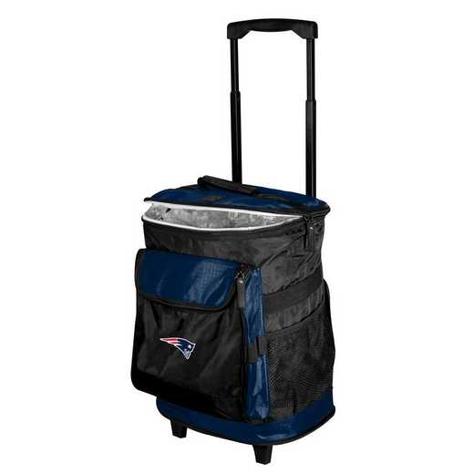 619-57B-1: New England Patriots Rolling Cooler