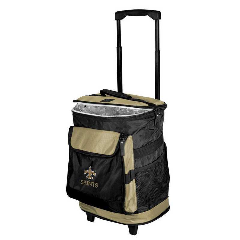 620-57B-1: New Orleans Saints Rolling Cooler