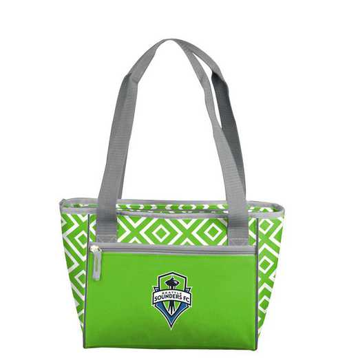 914-83DDM: Seattle Sounders Mavrik DD 16 Can Cooler Tote