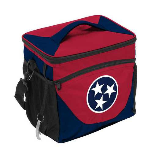 C2377-63: State of TN Flag 24 Can Cooler