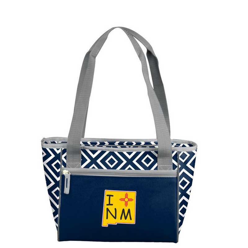 C3135-83QF: New Mexico Imagery Quatrefoil 16 Can Cooler Tote