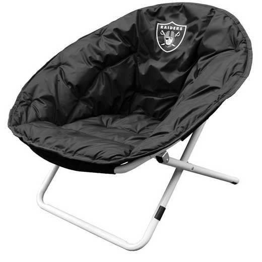 623-15: LB Oakland Raiders Sphere Chair