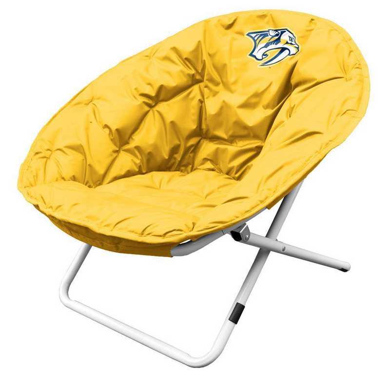 817-115: LB Nashville Predators Yellow Sphere Chair