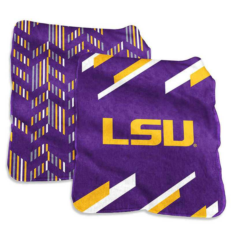 162-27S-1: LSU Super Plush Blanket