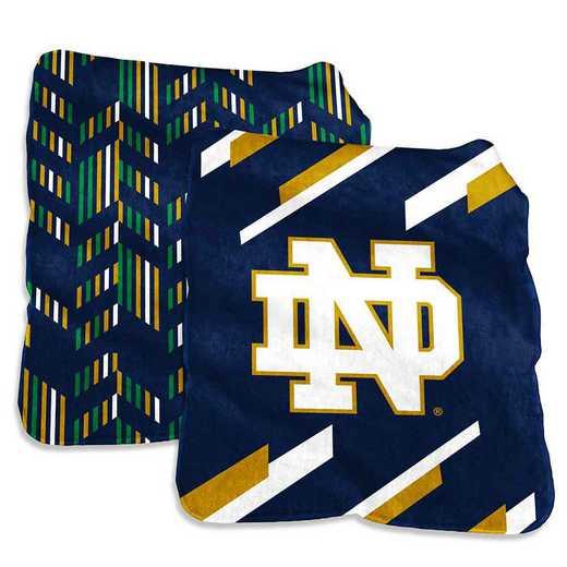 190-27S-1: Notre Dame Super Plush Blanket
