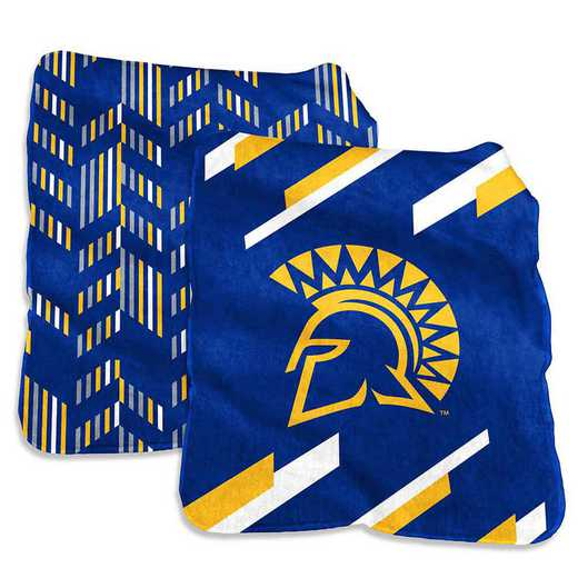 204-27S-1: San Jose State Super Plush Blanket