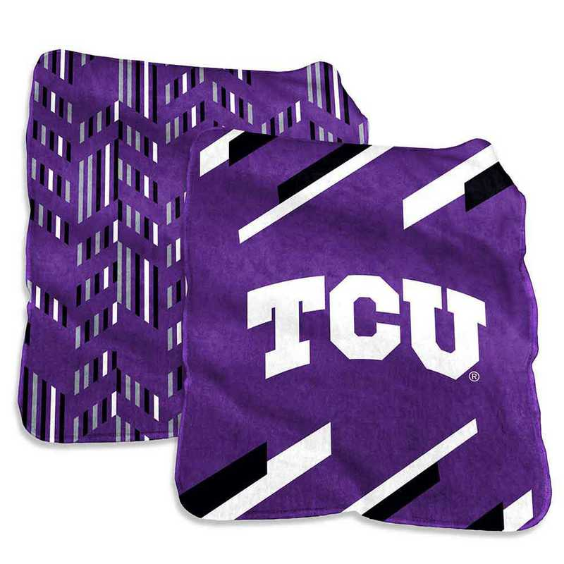 215-27S-1: TCU Super Plush Blanket