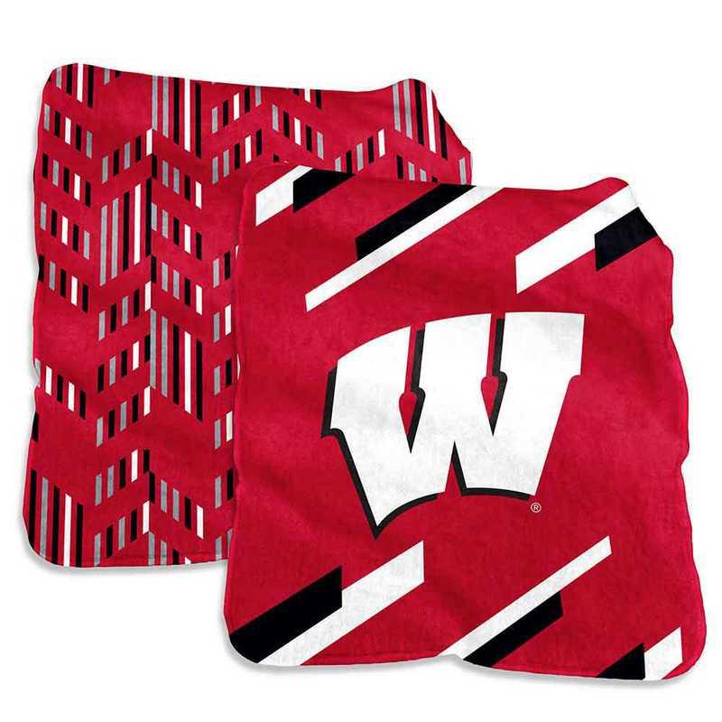 244-27S-1: Wisconsin Super Plush Blanket