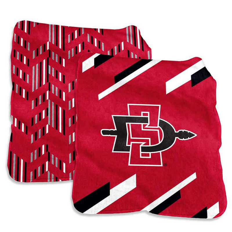 339-27S-1: San Diego State Super Plush Blanket