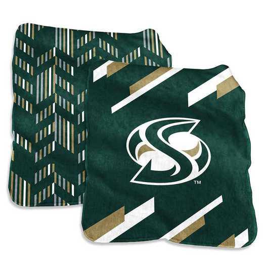 444-27S-1: Sacramento State Super Plush Blanket