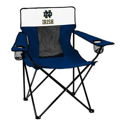190-12E-1: Notre Dame Navy/White Elite Chair