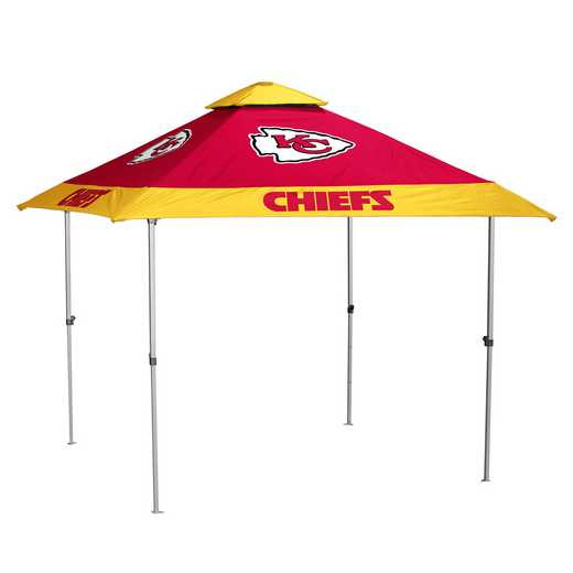 616-37P-NL: Kansas City Chiefs Pagoda Canopy Nolight
