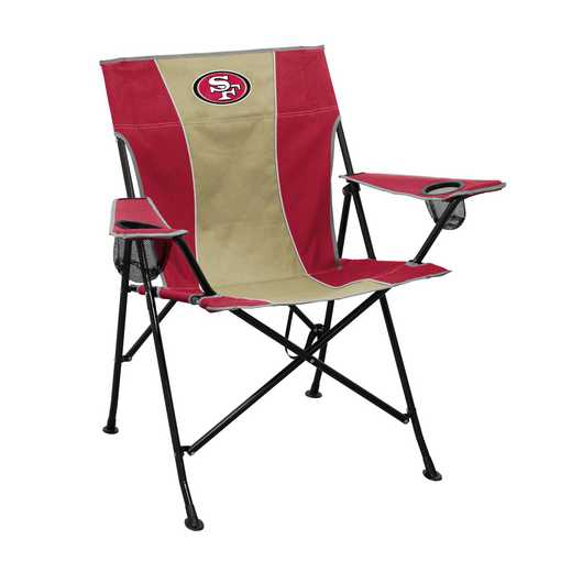 627-10P: San Francisco 49ers Pregame Chair