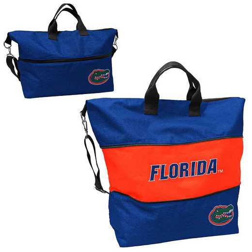 135-665-CR1: LB Florida Crosshatch Expandable Tote