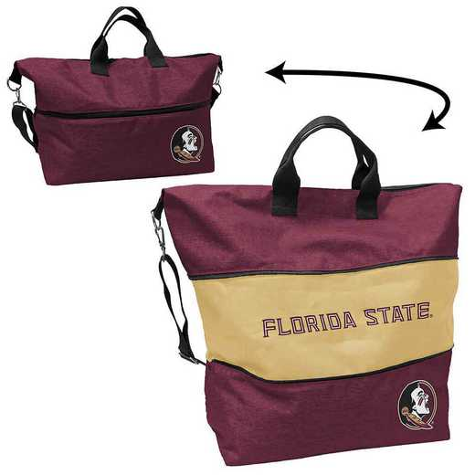 136-665-CR1: LB FL State Crosshatch Expandable Tote