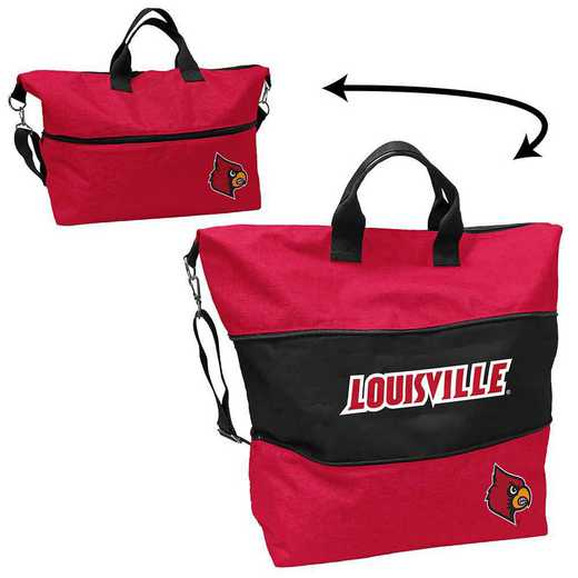 161-665-CR1: LB Louisville Crosshatch Expandable Tote