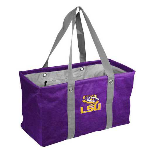 162-765-CR1: LSU Crosshatch Picnic Caddy