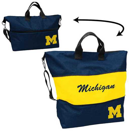 171-665-CR1: LB Michigan Crosshatch Expandable Tote
