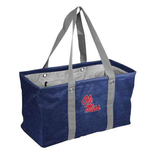 176-765-CR1: Ole Miss Crosshatch Picnic Caddy