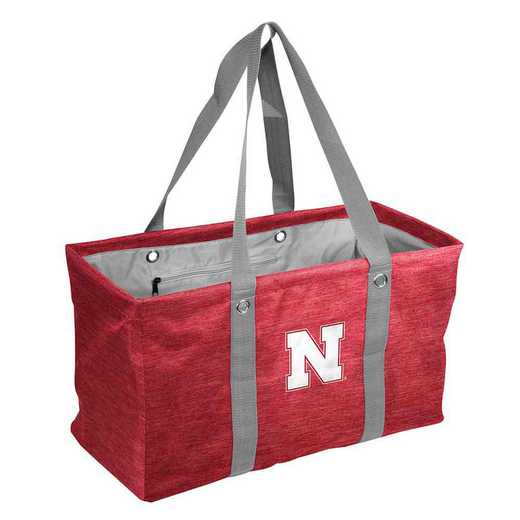182-765-CR1: Nebraska Crosshatch Picnic Caddy