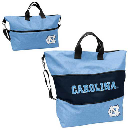 185-665-CR1: LB North Carolina Crosshatch Expandable Tote