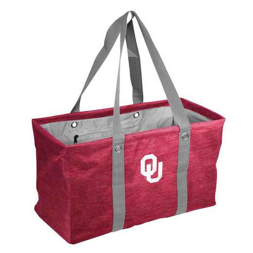 192-765-CR1: Oklahoma Crosshatch Picnic Caddy