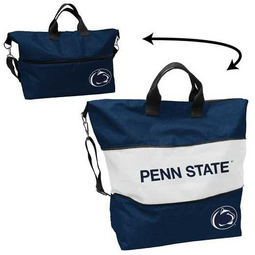 196-665-CR1: LB Penn State Crosshatch Expandable Tote
