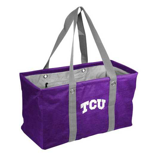 215-765-CR1: TCU Crosshatch Picnic Caddy