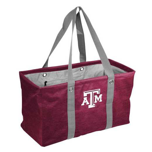 219-765-CR1: TX A&M Crosshatch Picnic Caddy