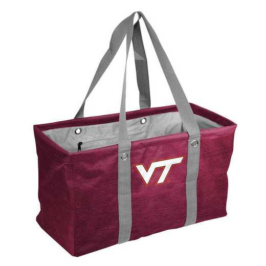 235-765-CR1: VA Tech Crosshatch Picnic Caddy
