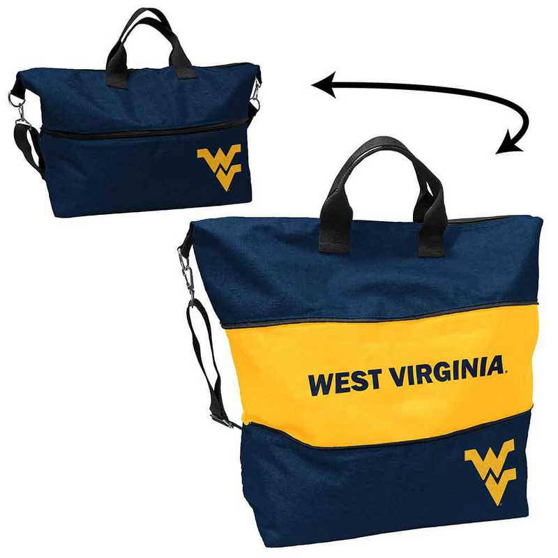 239-665-CR1: LB West Virginia Crosshatch Expandable Tote