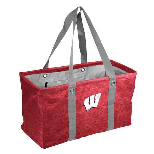 244-765-CR1: Wisconsin Crosshatch Picnic Caddy