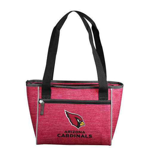 601-83-CR1: Arizona Cardinal Crosshatch 16 Can Cooler Tote