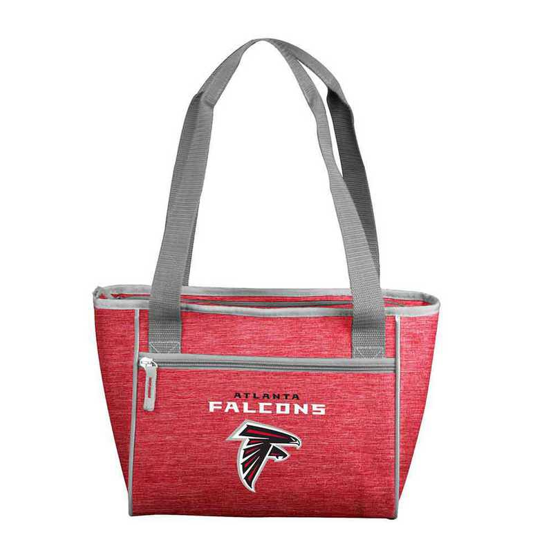 602-83-CR1: Atlanta Falcons Crosshatch 16 Can Cooler Tote