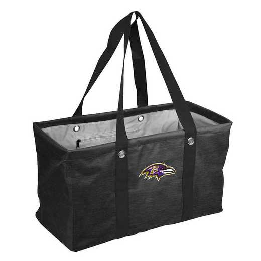 603-765-CR1: Baltimore Ravens Crosshatch Picnic Caddy