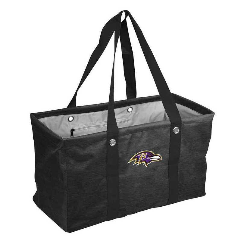 603-765-CR1: Baltimore Ravens Crosshatch Picnic Caddy