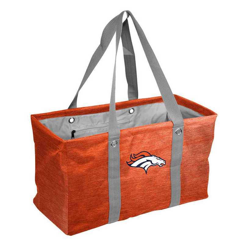 610-765-CR1: Denver Broncos Crosshatch Picnic Caddy