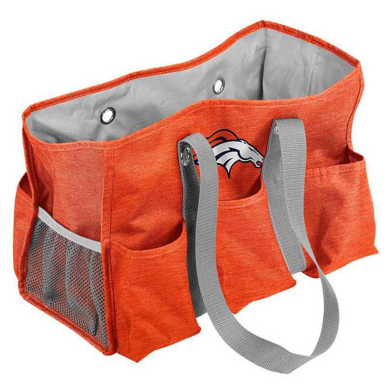 610-865-CR1: Denver Broncos Crosshatch Jr Caddy